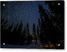 Full Of Stars Acrylic Print by James Wheeler
