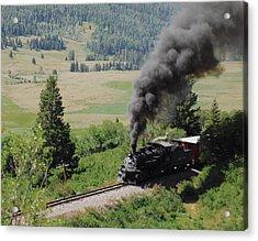 Full Steam Ahead Acrylic Print