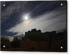 Acrylic Print featuring the photograph Full Streak by Gary Kaylor