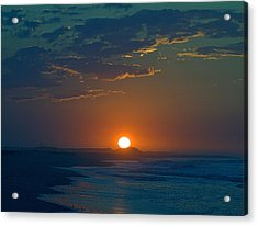 Acrylic Print featuring the photograph Full Sun Up by  Newwwman