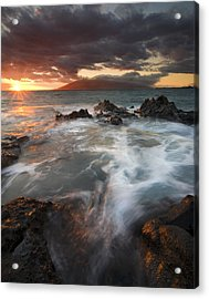 Full To The Brim Acrylic Print by Mike  Dawson