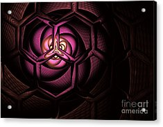 Fullerene Acrylic Print by John Edwards