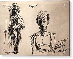 Fun At Art Of Fashion At Nacc 1 Acrylic Print