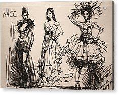 Fun At Art Of Fashion At Nacc 3 Acrylic Print