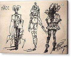Fun At Art Of Fashion At Nacc Acrylic Print