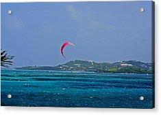 Fun In St. Croix Acrylic Print by Martin Morehead