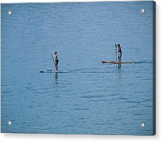 Acrylic Print featuring the photograph Fun In The Sun At Lake Tahoe by Dan Whittemore