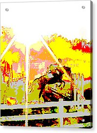 Fun In The Sun Acrylic Print by Donna Thomas