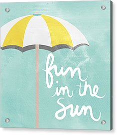 Fun In The Sun Acrylic Print by Linda Woods