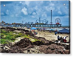 Fun On The Beach Acrylic Print