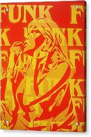 Funk Acrylic Print by Leon Keay
