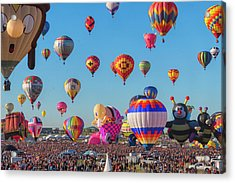Funky Balloons Acrylic Print