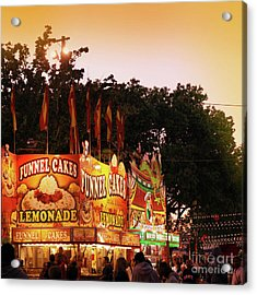 Acrylic Print featuring the photograph Funnel Cakes by Cindy Garber Iverson