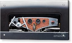 Acrylic Print featuring the photograph Funny Car Dash by Chris Dutton