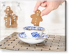 Funny Gingerbread Acrylic Print