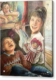 Funny Story - Histoire Drole Acrylic Print