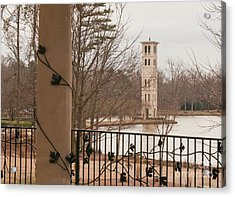 Furman Bell Tower 1 Acrylic Print