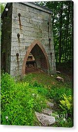 Furnace Of Mine Hill - Historic Iron Blast Furnace Acrylic Print
