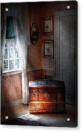 Furniture - Bedroom - Family Secrets Acrylic Print by Mike Savad