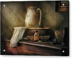 Furniture - Table - The Water Pitcher Acrylic Print by Mike Savad