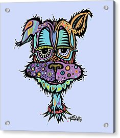 Furr-gus Acrylic Print by Tanielle Childers