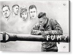 Fury Crew Acrylic Print by James Holko