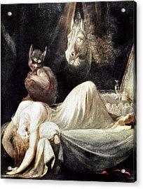 Fuseli: Nightmare, 1781 Acrylic Print by Granger
