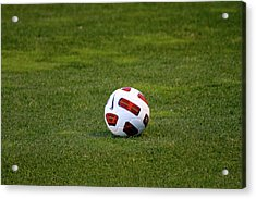 Acrylic Print featuring the photograph Futbol by Laddie Halupa