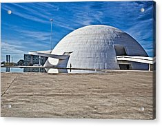 Acrylic Print featuring the photograph Future Dome by Kim Wilson