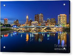 Fx2l531 Columbus Ohio Skyline Photo Acrylic Print