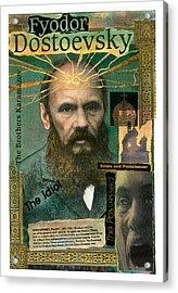 Fyodor Dostoevsky Acrylic Print