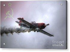G-gyak Yak 50 Acrylic Print