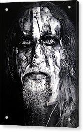 Gaahl Acrylic Print