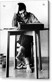 Gabriel Garcia Marquez, Ca. 1970s Acrylic Print