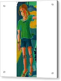 Gabrielle Acrylic Print by Debra Bretton Robinson