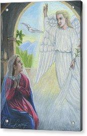 Gabriel's Revelation Acrylic Print