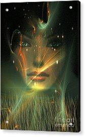 Gaia Acrylic Print by Shadowlea Is