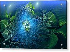 Gaia's Emergence Acrylic Print by Casey Kotas