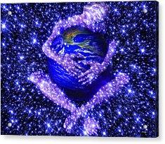 Gaia's Love Acrylic Print by Robby Donaghey