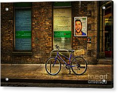 Acrylic Print featuring the photograph Gaiety Bicycle by Craig J Satterlee