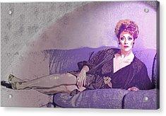 Gail - 1 Acrylic Print by Jim Justinick