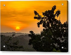 Gainesville Sunrise Acrylic Print