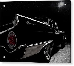 Galactic Cruiser Acrylic Print by Douglas Pittman