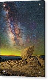 Galactic Erratic Acrylic Print
