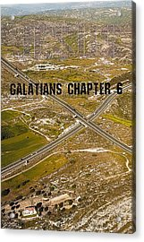 Galatians Chapter 6 Acrylic Print