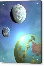 Galaxy 2 Acrylic Print by John Keaton