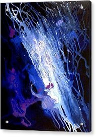 Galaxy Abstract4of4 Acrylic Print by Teo Alfonso