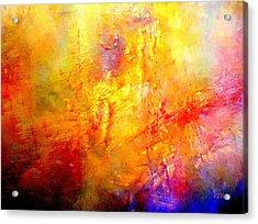 Galaxy Afire Acrylic Print