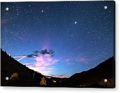 Galaxy Gazing Acrylic Print by James BO Insogna