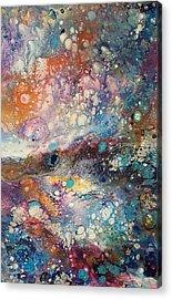 Galaxy Acrylic Print by Jessica Lee